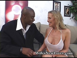 Mommy's Big Orgasm From Black Lover