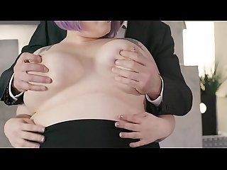 Phat Secretary Taking Care Of Boss' Dick - Alexxxis Allure