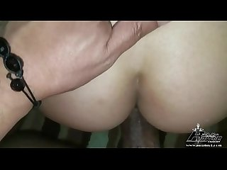 Busty Asian Gets Introduced To Black Cock