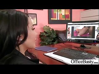 Sex tape in office with busty gorgeous girl lela star clip 18