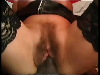 Mature white housewife fucked in the ass by black stallion