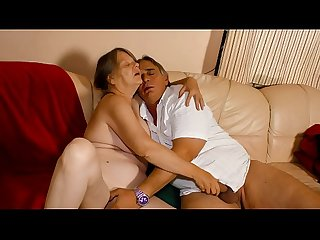 Xxx omas naughty german granny enjoys hot hard Fuck and mouth creampie