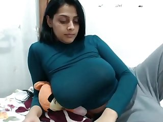 Big tit indian on cam having orgasm hard - www.thesluttycams.com