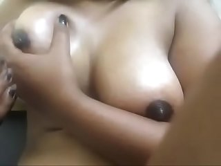Swan220 best boobs oil massage, very sexy and erotic big boobs massage by me