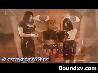 Kinky erotic milf in enjoyable latex porn