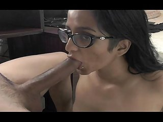 Indian hot horny bhabhi sucking husbands big dick sexy hd video wowmoyback