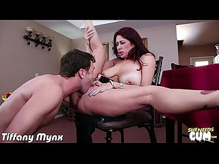 Busty milf tiffany mynx take cock for cum