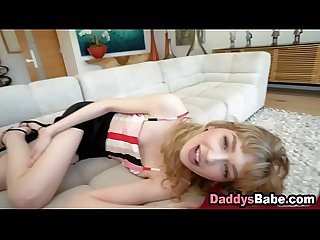 Step d. sucks daddy's cock to make him feel better