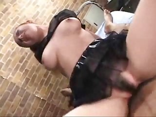 Filthy asian whore cockriding
