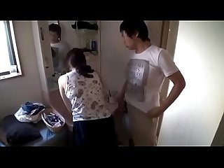 Asian milf falls into college student s dormitory pt2 on filfcam com