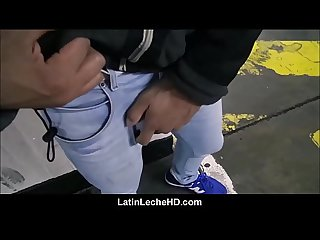 Amateur Straight Latino Jock Looking To Make Fast Cash Fucks Gay Stranger POV