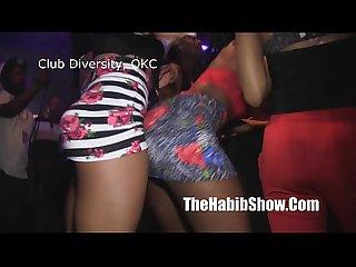 Club diversity booty shakin ass twerkin