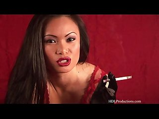 Mya Luanna - Smoking Fetish at Dragginladies