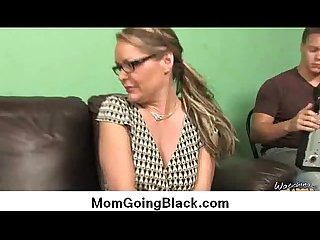 Watching my mom go black super hot interracial bang 24
