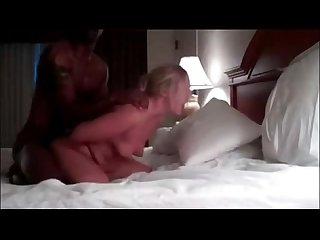 Married cougar cuckolds her husband with bbc