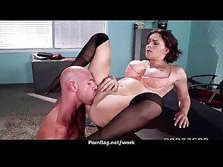 Sexy wild milf loves rough sex at work 26
