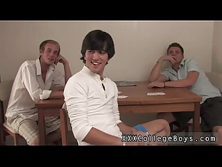 Free Twinks gay movies when he is done he glides his Condom off while