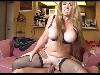Busty milf Anita cannibal anal