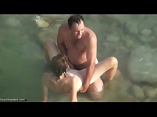 BeachHunters Sex 18887-19032 (Hot Nudist Couples spy cam at the beach)