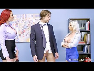 Brazzers Rachel and skyla share some office