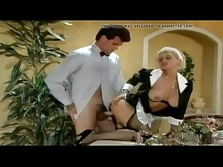 German vintage maid rough sex