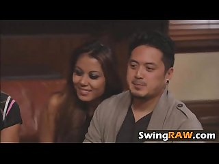 Asian real couple in us joins reality sex show for swapping partnersrk 1