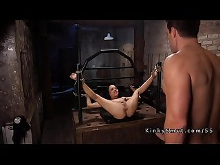Huge dick debt collector bangs mixed slave