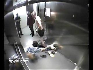 Couple having sex on hotel elevator get caught on hidden camera