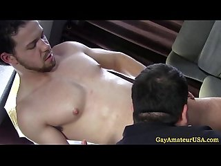 Straight amateur jock loving gay massage