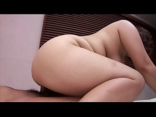 Chubby asian mature nailed hard on bed