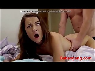 Brother fucks sister and cums in her ass full at babexgang com