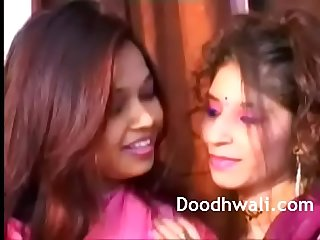 Indian College Girls In Sari Lesbian Mind Blowing XXX Porn