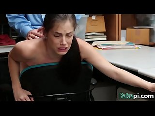 Bobbi Dylan Shoplifter Office Fucking Doggy Style