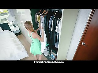 Exxxtrasmall tiny secretary fucked by her boss