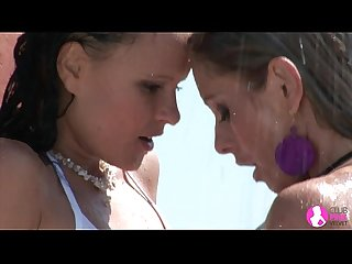 Viv thomas lesbian hot wet babes Hd