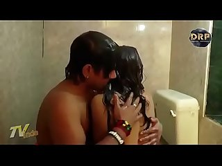 desi aunty fun with step son in the bathroom