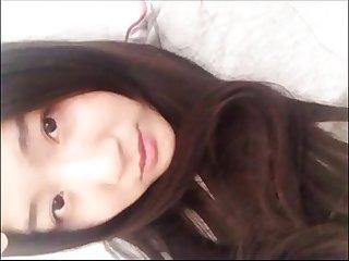 Cute korean girl show her nice body