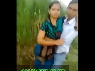 Indian Desi college student kissing outdoor mms period mov
