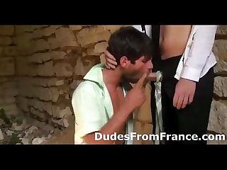 Hot french horny gay dudes Assfuck hard and deep