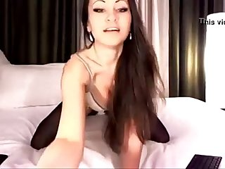 Sexy Cam Princess Teases in Her Stockings - combocams.com