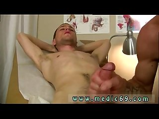Young gay twink physical exam video and jacked off for medical exam
