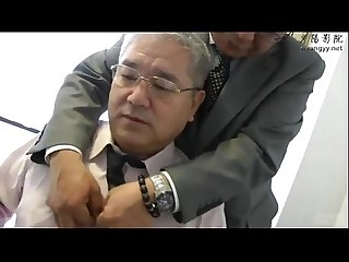 Japanese daddy and creampie