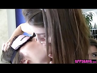 Teen sorority girls humiliated a blindfolded newbie
