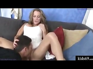 Son help young mom and Xxx
