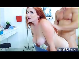 Dirty mind doctor seduce and Ban horny slut patient lennox luxe video 15