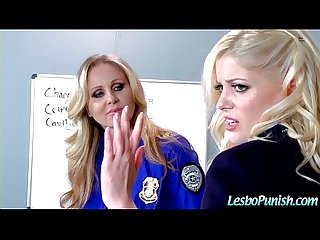 Lesbo Girls (alison&charlotte&julia) In Hard Punish Sex Games movie-07