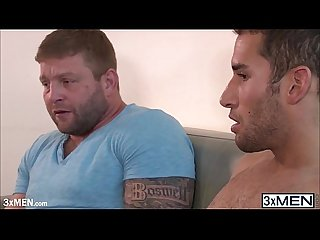 Big boys colby jansen and ricky decker engages in a romantic gay porn