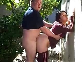 Fuck neighbor behind her house horny milf more videos on www 69sexlive com
