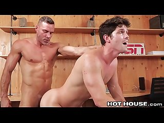HotHouse Devin Franco Rides Daddy Dick BB At Work!
