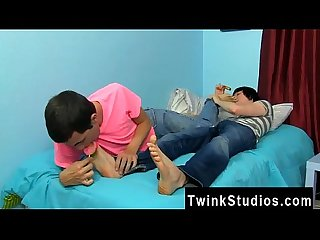 Gay male Twins blowing each other conner Bradley and tyler bolt are